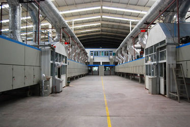 The Workshop Of Copper Clad Laminate Factory