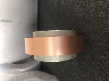 China 0.03mm Thickness Soft Copper Foil For Transformers 2mm - 400mm Width supplier