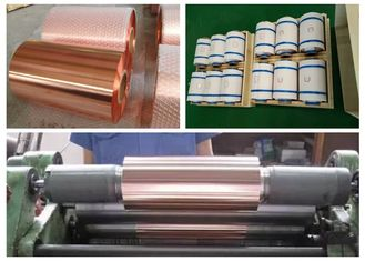 China Samsung Mobile Rolled Copper Foil RoHS / ISO Approval 500 - 5000M Length supplier
