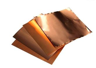 China High Temperature Pure Copper Foil , Anti Oxidization 3oz Thick Copper Film supplier