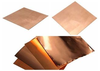 China Shield Copper Foil Sheet  0.15mm - 8mm Thickness supplier
