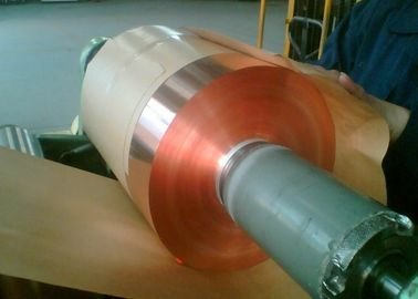 China HTE RA Rolled Annealed Copper Foil For PCB CCL 76 Mm / 152 Mm Roll ID supplier