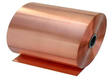 China Reddened Rolled Copper Foil 12um With High Pell Strength For FPC supplier