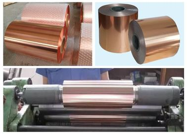 China 1 OZ Double Side Rolled Copper Foil For FCCL Excellent Etching Performance supplier