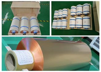 China Mylar Tape Roll Of Copper Foil , High Tensile Strength Copper Roll Flashing supplier
