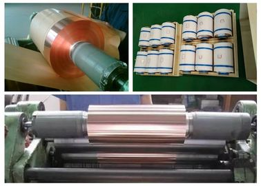 China Camera Electric Radiator Rolled Copper Foil 18um / 0.5 OZ Thickness supplier