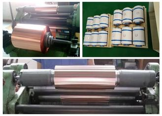 China Double Shiny Rolled Copper Sheet , 500 - 5000 Meter Length Copper Roll supplier