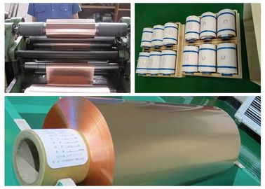 China Soft Annealed Rolled Copper Foil For Conductive Tape Thickness 0.02mm supplier