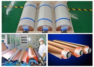 China RoHS STD 18um ED Copper Foil For Phenolic Resin Board None Pinholes supplier