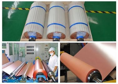 China 3 / 4 OZ ED Copper Foil Flexible Copper Clad Laminate Good Folding Endurance supplier