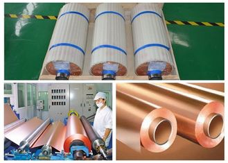 China 1 OZ Electrolytic Copper Foil For Fccl Grain Structure High Flexibility supplier