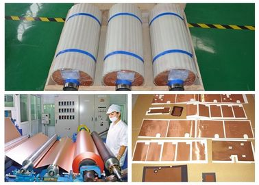 China High Ductility Copper Foil For Pcb , ISO Width 1380mm Copper Sheet Plate supplier