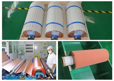 China ISO 25um Electrolytic Copper Foil More Than 1 N / Mm Peel Strength supplier