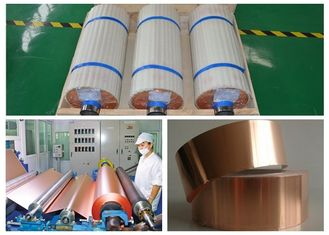 China 18um ED Electrolytic Foil Copper For Low Fever Electronic Materials supplier