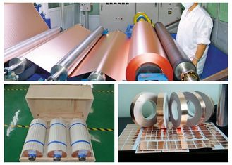 China Zinc - Free Edco Copper Foil , 3 / 4 OZ  Thickness Copper Sheet Metal Roll supplier