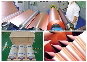 China High Elongation Electrolytic Copper Foil For Flexible Copper Clad Laminate supplier