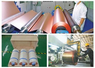 China 25um LP  Ed Copper For FPC , ​High Temperature Resistance Copper Foil Roll supplier