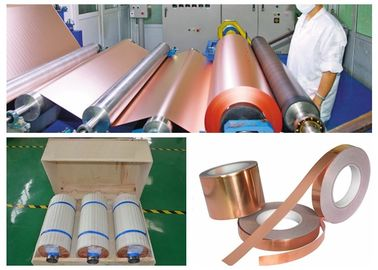 China Good Anti Oxidation Performance 2 OZ Sheet Metal Copper , ED RTF Copper Foil supplier
