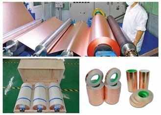 China PCB Electrodeposited Rolled Annealed Copper High Intensity / Peel Strength supplier