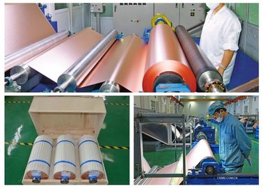 China 70um Electrolytic PCB Copper Foil 3 / 6 Inch Roll Internal Diameter supplier