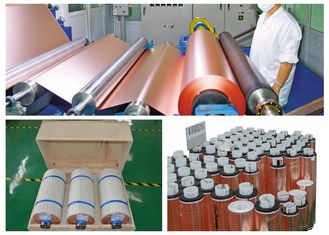 China 5 - 660mm Width Copper Foil For Pcb , Single Side Black Treated Ra Copper Foil supplier
