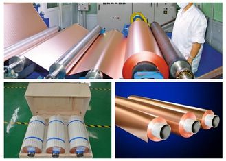 China HTE RA PCB Copper Foil 76mm / 152mm Inter Dimater 0.009 - 0.09mm Thickness supplier