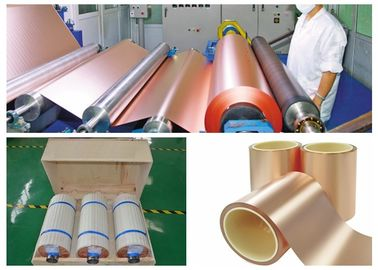 China Gray Treated Single Side PCB Copper Foil 500 - 5000 Meter Length Per Roll supplier