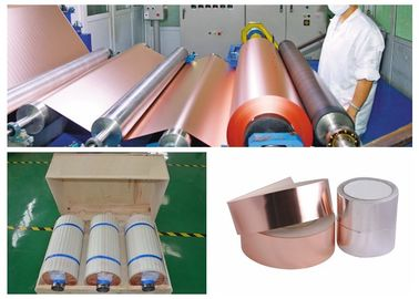 China 12 Micron Thin Copper Foil Foll For PCB 76mm / 152mm Inner Diameter supplier