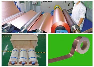 China Double Matt 8 MicThin Copper Foil For Mobile Phone Lithium Battery supplier