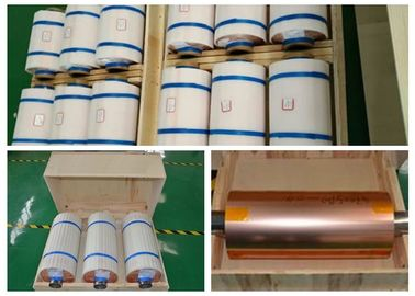 China ED Electrodeposited Copper Foil For Mylar Tape None Pinholes 99.8% Purity supplier