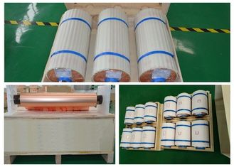 China RCC Red HTE Copper Foil Polyimide Board Suit 12 Mic SGS / RoHS Approval supplier