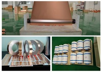 China 1OZ High Elongation ED Copper Foil , Good Etch Ability Rolled Copper Foil supplier