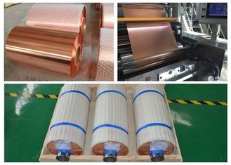 Soft Temper Expanded Copper Foil , High Purity Annealed Copper Sheet Metal Roll