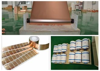 China Eco Friendly Lithium Ion Battery Copper Foil / Large Copper Sheet Roll supplier