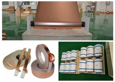 China High Elongation Graphene Copper Foil 500 - 5000 Meter Length Per Roll supplier