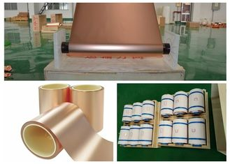 China ED Copper Shielding Foil Polished Raw Surface Treatment ISO Approval supplier