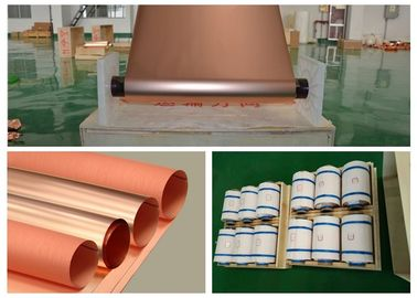 China 105um Copper Foil Coil For Shielding , Excellent Adhesion Roll Of Copper Foil supplier