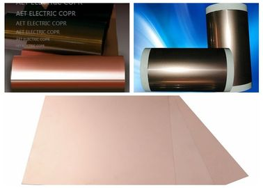 China ROHS Single Side FCCL Copper Clad Laminate with 0.5 ~ 2.0mils thickness PI Film Mil Modified Epoxy Adhesive supplier