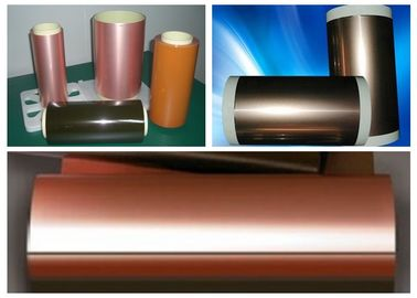 China Double side Flexible Copper Clad Laminate FCCL  250mm width For PCB supplier