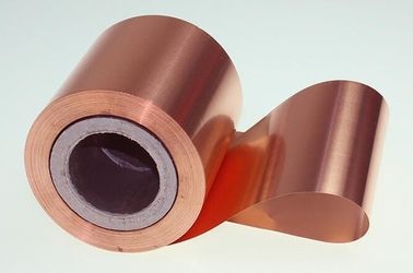China 10 Micron High Performance Copper Foil Double Matter Side 500 - 5000 Meter Length supplier