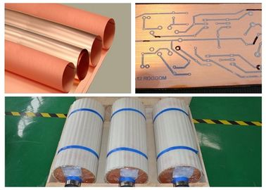 China Standard Width Copper Sheet Roll 12um Thickness With Good Etching Resist Adhesion supplier