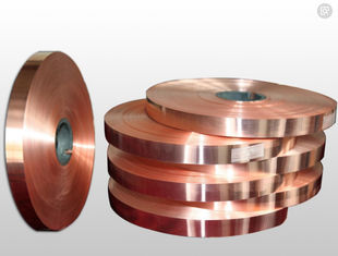 China High - Precision Rolled Copper Foil For Electronics Shielding / Heat Radiation supplier
