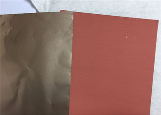 China Red Low Profile ED Copper Foil 15um 18um 35um Used For Samsung Phone Heat Sink supplier