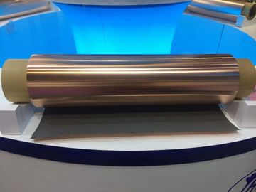 China 250mm Width ED Copper Foil , High Purity Double Light Thin Sheets Of Copper supplier
