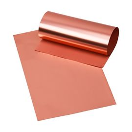 China Double Side Shiny Lithium Ion Battery Copper Foil Thick For Capacitor / Notebook PC supplier