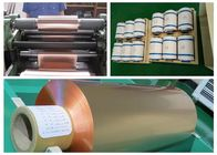 China Soft Annealed Rolled Copper Foil For Conductive Tape Thickness 0.02mm factory