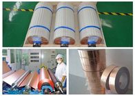 China 0.01mm Thick Hvlp Copper Foil , High Temperature Resistant ED Copper Board For Pcb factory