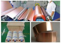 China 7 Mic LB Single Shiny Copper Thin Sheet High Temperature Resistance factory