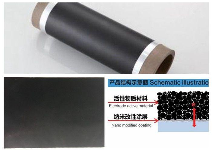 Conductive Carbon Coated Aluminum Foil 0 012 - 0 040 Mm