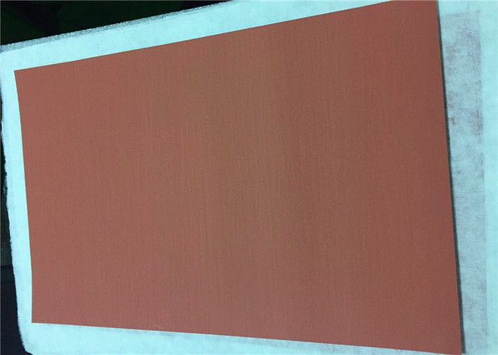 1100mm Electrolytic Copper Sheet Metal Roll 18um Thickness